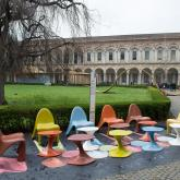 EFFIX CREA l Parabola Chairs and Tables by Mac Stopa.